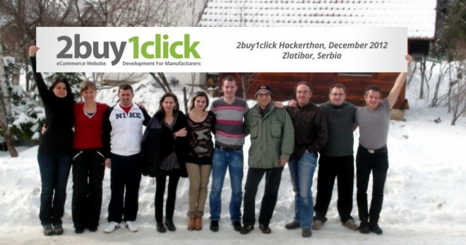 2012 2buy1click Hackerthon in Zlatibor Serbia