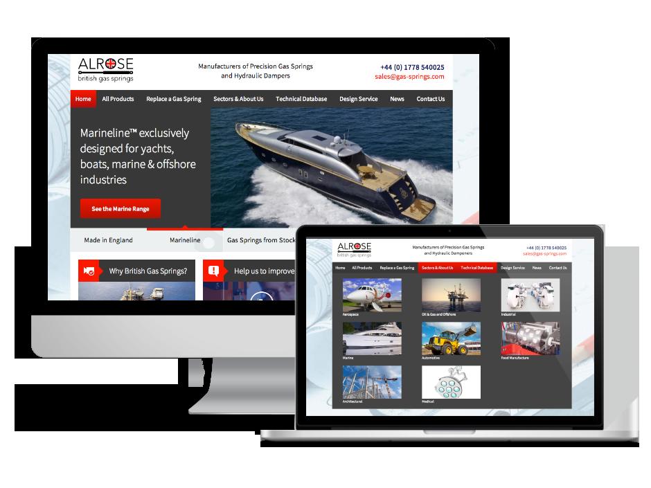 Corporate Website - Alrose British Gas Springs Case study
