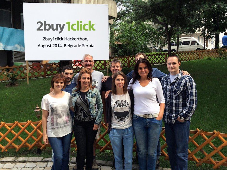 2buy1click Team Hackerthon 2014