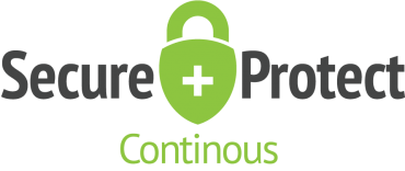 Secure and protect - Continuous logo