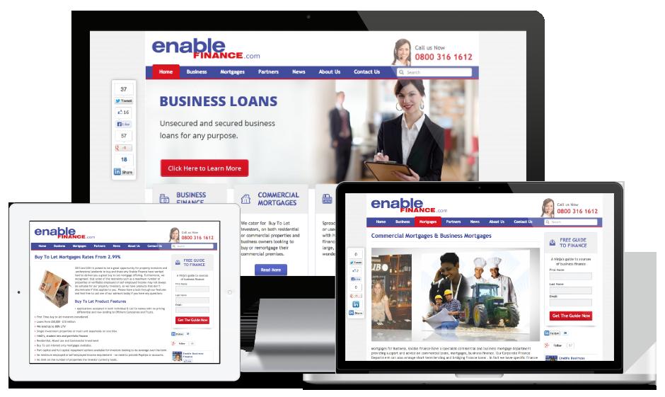 Portfolio case study Enable Finance