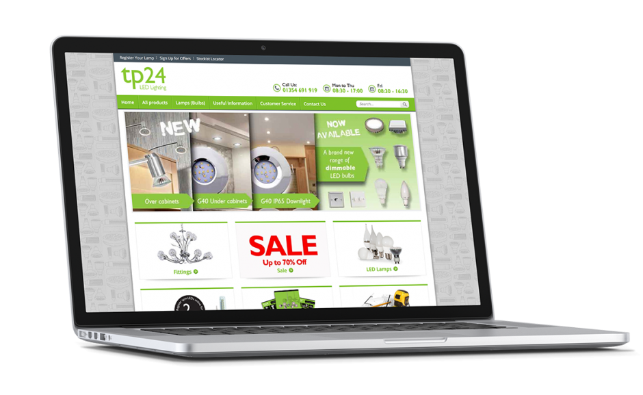 tp24 Showcase home page