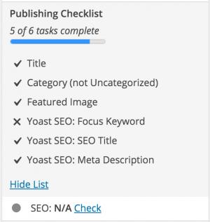 2buy1click.com - Checklist