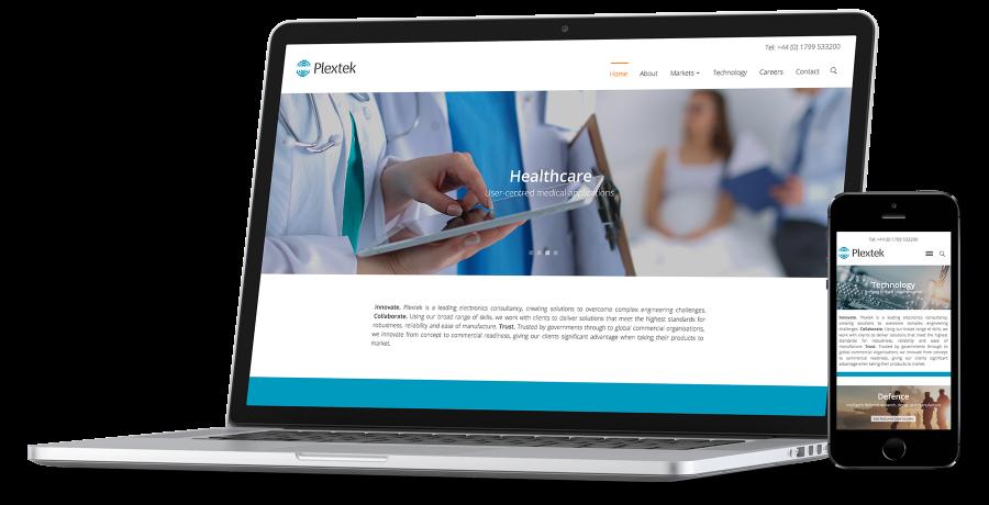 Plextek Case study mobile