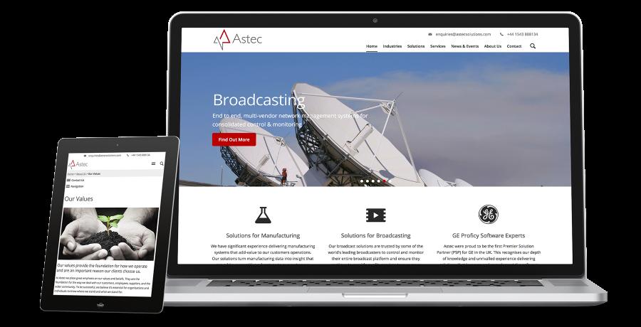 Astec IT Solutions showcase values