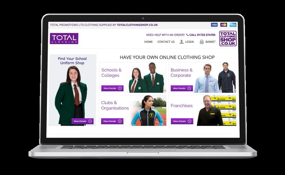 Total Clothing Shop Showcase