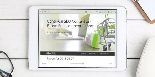 SEO Keyword Ranking Improvement - SEO Report