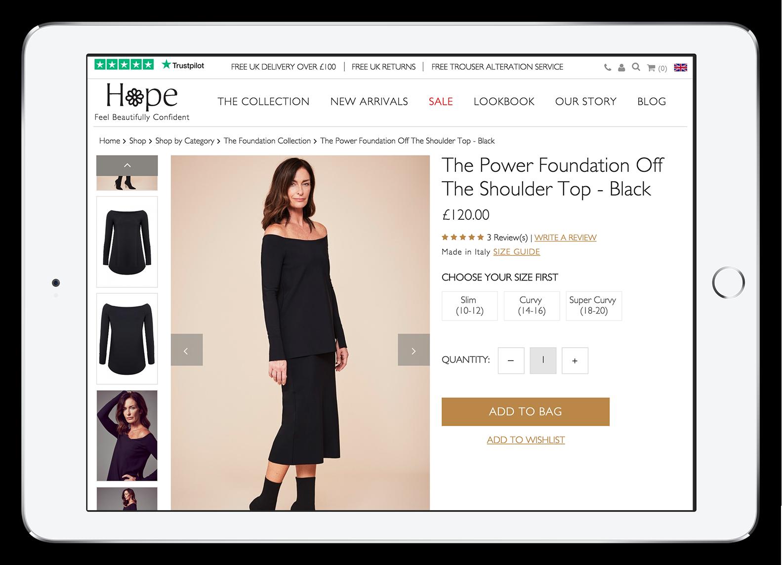 Hope Fashion Product