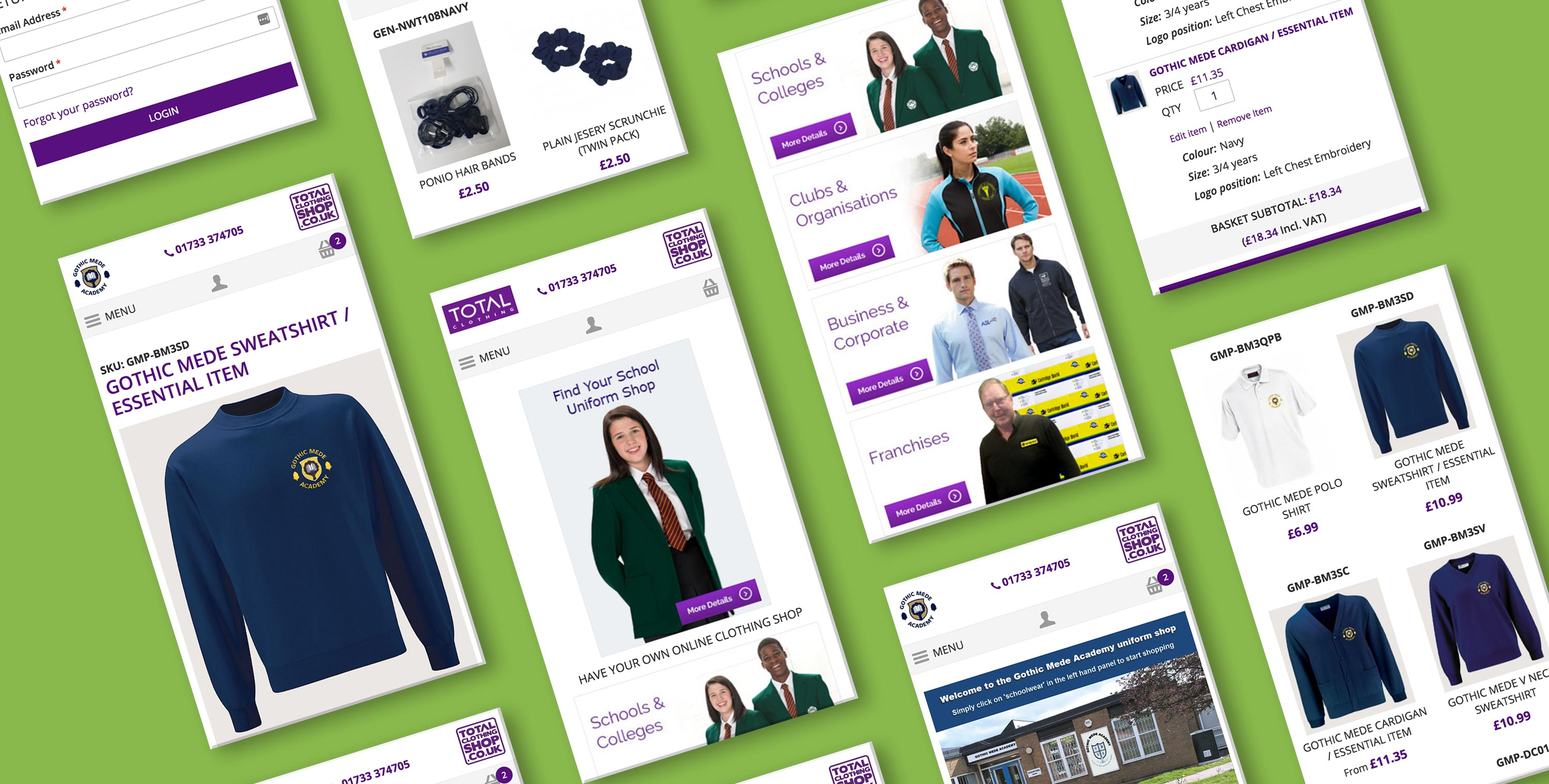 Total Clothing Shop Case Study