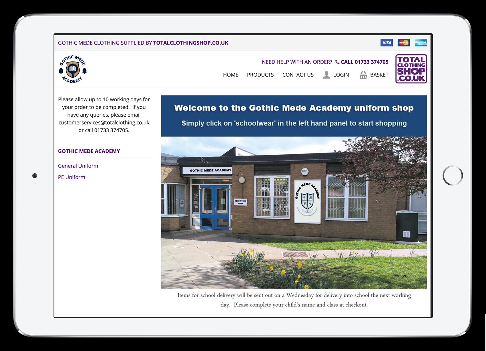 Total Clothing Shop School