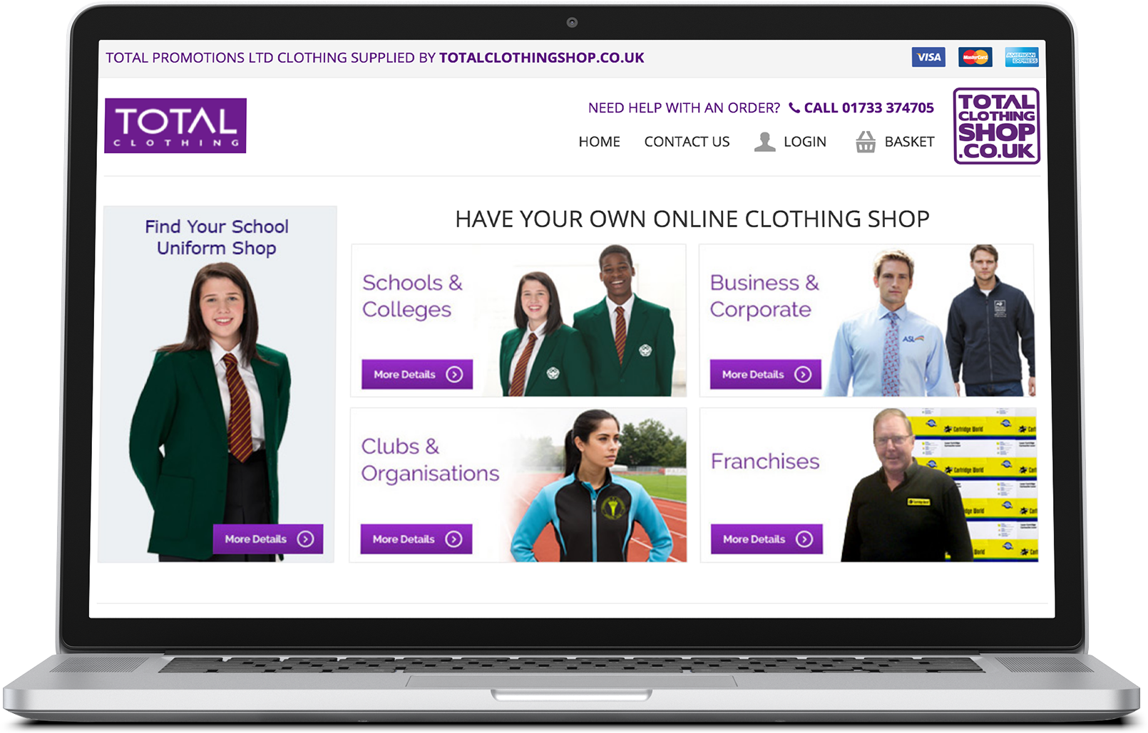 Total Clothing Shop