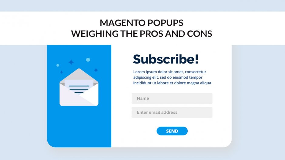 Magento pop Up Weighing Pros And Cons