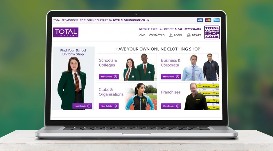 TotalClothingShop Case Study Image