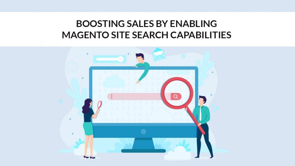 Boosting Sales By Enabling Site Search