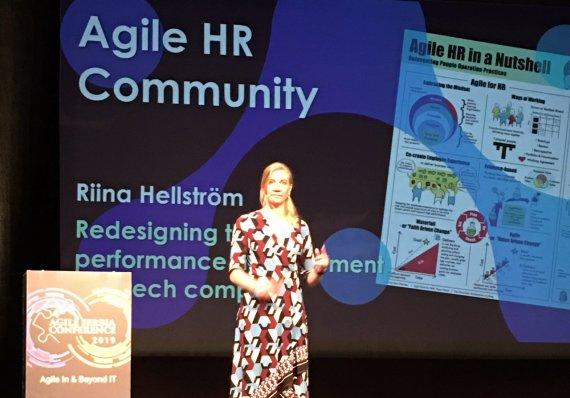 Agile in IT - Riina Hellstrom