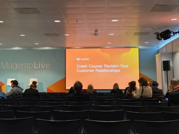Magento Live Europe Customer Relationships
