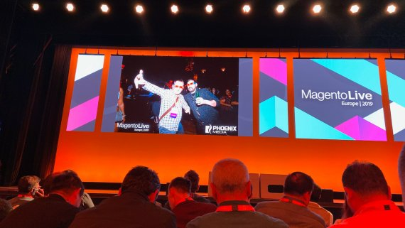 Magento Live Europe Party